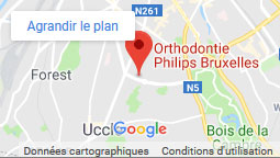 Orthodontics practice of Bruxelles Google Maps