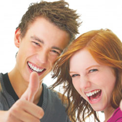orthodontic appliance for teenager